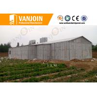 Prefab House 100mm EPS Foam Sandwich Wall Panels With Sound Insulation