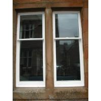 Buy cheap Aluminum Sliding Box Sash Windows With Double Glazed Combustion - Retarding product