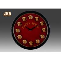 Buy cheap Round Wood Wall Clock Round Wall Clock Decorative Wall Art Signs Vintage / Retro Style product