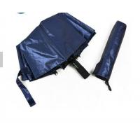 Quality Sun Protection 3 Foldable Auto Open Umbrella Two Sides UV Fabric Rustproof for sale