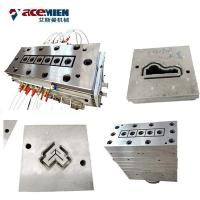 Buy cheap Plastic Recycling Wood Plastic Composite Production Line PVC Wood Sheet Mould Die Extrusion product