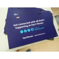 Buy cheap High Density PVC Custom Sign Boards Double Sided Full Color Printing product