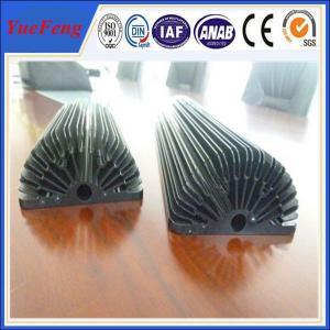 Buy cheap Hot! Black Anodized Aluminum Sunflower Heatsink, aluminum heat sink extrusion profiles product