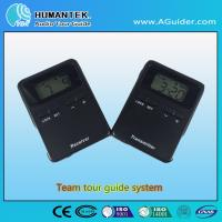 Buy cheap 008A Hot Design Portable Wireless Voice  Transmitter  Mini  Black Team Audio Guide System product