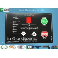 Buy cheap PC 0.175 Mm Membrane Switches Graphic Overlays Clear LCD Window For Electronic Cooker product