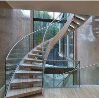 Buy cheap Arc Modern Wood Steel Round Staircase product