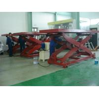 Buy cheap Stationary Aerial Scissor Lift  4200kg Capacity With1150mm Lifting Height product