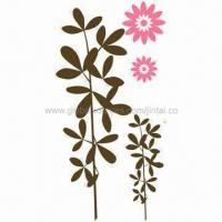 Buy cheap Wall Stickers, Made of PVC and Vinyl, Suitable for Home Decoration, Available in Various Sizes product
