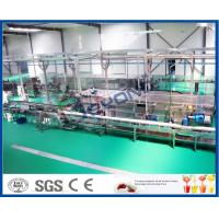 Buy cheap High Efficiency Fruit Juice Processing Line Process Beverage Sterilizing Tunnel product