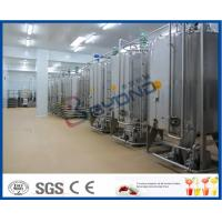 Buy cheap 5000 LPH Beverage Production Line Fruit Juice Powder Mixing And Sterilizing Plant product