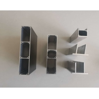 Buy cheap Extruded 6063 T5 0.08MM Curtain Wall Aluminum Frame Profile product