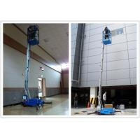 Buy cheap Hydraulic Aerial One Man Lift 136 kg Rated Load With 8 Meter Platform Height product
