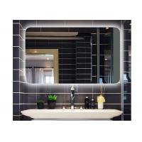 Buy cheap Square without frame wall hanging bathroom mirror hote led anti-fogging mirror smart bathroom decoration mirror from wholesalers
