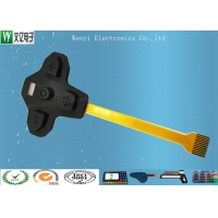 Buy cheap Silicone Overlay FPC 1mm Pitch Membrane Switch product