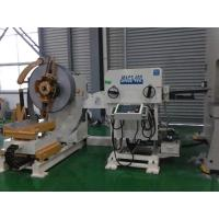 18KW Decoiling And Straightening Machine , Ball Screw Mold Processing Grommet Steel Perforating Machine