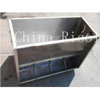 Buy cheap Fully stainless steel double side pig feeder product