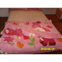 Buy cheap Soft Breathable Pure Silk Blanket , Raschel Blanket With Double Printed product