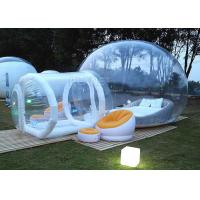 Buy cheap Event Inflatable Bubble Hotel Water Resistance With Entrance Tunnel product