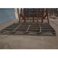Buy cheap High Manganese Steel Stone Crusher Jaw Plate Casting Processing product