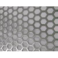 Buy cheap Hexagonal Hole Perforated Metal Perforated Aluminum Sheet 2mm thick 3003 5005 5052 6061 3004 product