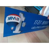 Buy cheap Indoor Custom Sign Boards Shape Cutting For Informational Signage / Menu Boards product