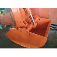 Buy cheap Hitachi ZX200-3 Excavator Grab Bucket / Clamshell Grapple Available Various Width from wholesalers