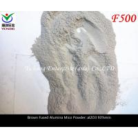Buy cheap Brown aluminum oxide size macrogrits microgrits and powders for abrasive media product
