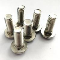 Buy cheap Dacromet Cup Head Square Neck Bolt , Stainless Steel Mushroom Head Bolts product