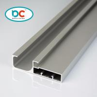 Buy cheap 6000 series glossy aluminum kitchen profile for 4mm glass with gasket product