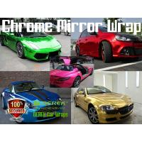 Buy cheap Chrome Mirror Car Wrapping Vinyl Film 3 layers - Chrome Purple product