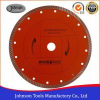 Diamond Stone Cutting Blades For Hand Held Saw 2.6mm Segment Thickness