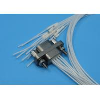 Quality Receptacle Micro-D Rectangular J30J Series 9 Pins Connector 500mm 0.1 - 0.15mm² for sale
