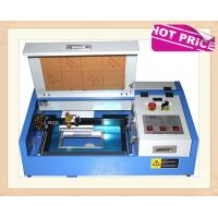 Buy cheap 40W CO2 Laser Engraving Cutting Machine , Mini Desktop Laser Engraver OEM from wholesalers