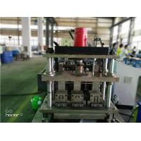 Quality 3 Rows Guide Rail Solar Roll Forming Machine for solar stands continues punching for sale