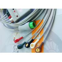 Buy cheap 12 Pin 5 Leads One Piece ECG Cable Monitor Connector Cable Compatible Mindray product