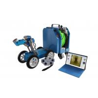 Buy cheap Computer Controlled CCTV Inspection Camera , Lightweight Sewer Pipe Inspectin Robot Camera product