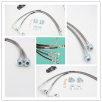 Buy cheap Stainless steel braided brake hose is widely used for any auto, motorcycle, racing cars, beach vehicles, ATV and Scooter product