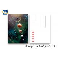 Buy cheap Amizing Design Star 3D Lenticular Postcards With Two Side CMYK UV Offset Printing product
