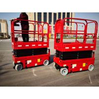 Buy cheap Hot selling compact aerial work platform plataforma elevadora 6m self-propelled electric mini scissor lift product