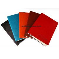 Buy cheap Custom soft leather Paper notebook with grey paper inside product