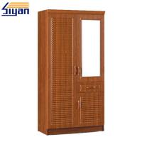 Buy cheap Bedroom Furniture Shutter Style Wardrobe Doors PVC Surface OEM ODM Service product