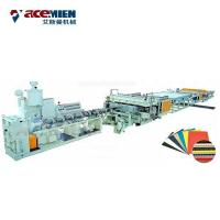 Buy cheap Corflute Correx Sheet Plate Extrusion Line PP PE PC Hollow Board Automatic product