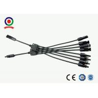 Buy cheap Waterproof MC4 Branch Connector PPO Material Double Fixed Connection product