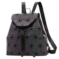 Buy cheap WHOLESALES Laser Geometric Backpack China Supplier Holographic Bag PU Leather from wholesalers