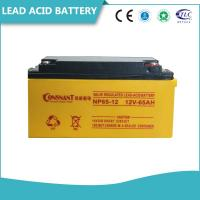 Buy cheap Customized UPS Accessories 6V & 12V Valve Regulated Lead Acid Battery Non - Spillable product