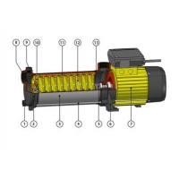 Buy cheap High Pressure Vertical Multistage Centrifugal Pump For Industrial , 0.75HP / 0.55KW product