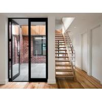 Buy cheap Bullet Proof Security Aluminium Hinged Doors With Laminated Glass French Style product