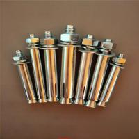 Buy cheap Industrial Stainless Steel Sleeve Anchor Bolts Easily Penetrate For Dry Environments product