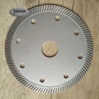 Buy cheap 105mm Ceramic Tile Saw Blades , Marble Cutting Disc 1.8mm Segment Thickness product