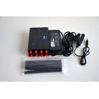 Buy cheap High Capacity Cellular Signal Jammer Signal Blocker All In One 3-8m Range product